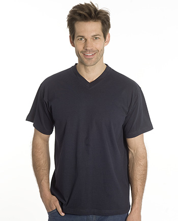 SNAP T-Shirt Flash Line V-Neck Unisex, schwarz, Gr. 3XL