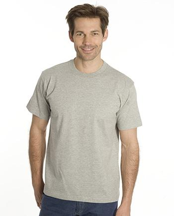 SNAP T-Shirt Flash-Line, 6XL, grau meliert