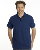 SNAP Polo Shirt Star - Gr.: M, Farbe: navy