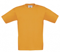 T-Shirt B&C Exact 190 Kids, Orange, Gr. 116