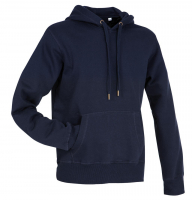 Stedman Active Sweat Hoody Men, Mitternachtsblau, 2XL
