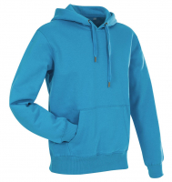 Stedman Active Sweat Hoody Men, Hawaii blau, 2XL