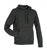 Stedman Active Sweat Hoody Men, schiefergrau, M
