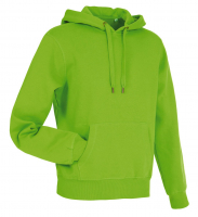Stedman Active Sweat Hoody Men, Kiwi, XL