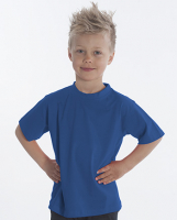 SNAP T-Shirt Basic-Line Kids, Gr. 128, Farbe royal