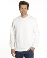 SNAP Sweat-Shirt Top-Line, Gr. 4XL, Farbe weiss