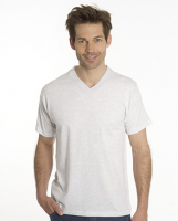 SNAP T-Shirt Flash Line V-Neck Unisex, asche, Gr. S