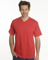SNAP T-Shirt Flash Line V-Neck Unisex, rot, Gr. 2XL