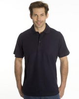 SNAP Polo Shirt Star, 3XL, schwarz