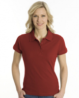 SNAP Polo Shirt Top-Line Women dunkelrot, Grösse L