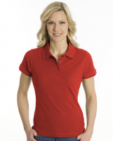 SNAP Polo Shirt Top-Line Women rot, Grösse L