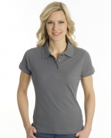 SNAP Polo Shirt Top-Line Women stahlgrau, Grösse L