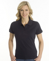 SNAP Polo Shirt Top-Line Women schwarz, Grösse XL