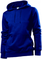 Stedman Hooded Sweatshirt Women, navy, Grösse XL