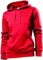 Stedman Hooded Sweatshirt Women, scharlachrot, Grösse XL