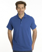 SNAP Polo Shirt Star - Gr.: M, Farbe: royal