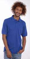 SNAP Workwear Polo Shirt P1, Royal Blau, Grösse S