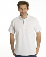 SNAP Polo Shirt Star - Gr.: 3XL, Farbe: asche